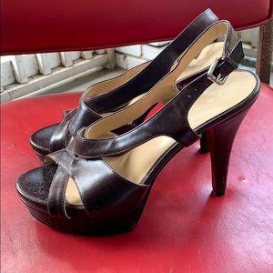 Nine West Caetlin strapped heeled sandals